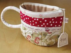 TeaCup pouch 86 by PatchworkPottery, via Flickr