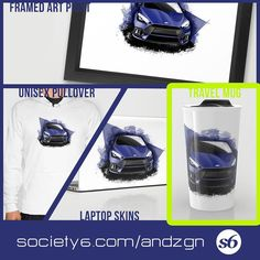 HEYY!! Customize items of your choice!  Acess the links below to be redirected to the automotive art presented during the week! It's easy fast and simple! Use payment via PayPal!  1 Acess the ALL STORE ONLINE: society6.com/andzgn  2 Choose your art.  3 Choose products  4 Confirm purchase and wait. The arts are arranged for sale for a limited time coming out and giving way to a new art. So enjoy and already purchase your favorite art!  FANPAGE: http://ift.tt/1Kw8cPp  #art #artwork…