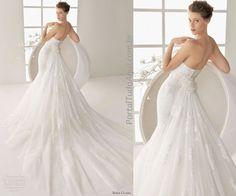 Vestidos de noiva coleção Rosa Clará 2013