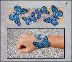 Blue Butterflies by Ellygator on deviantART