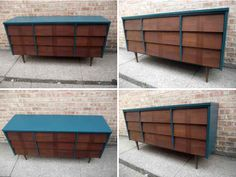 Love it!! Mid Century Modern Dresser.