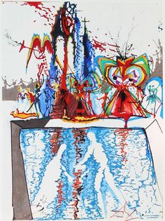 """Salvador Dalí's Rare 1975 Illustrations for """"Romeo and Juliet"""" – Brain Pickings"""
