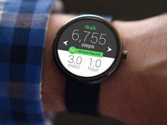 Android Wear Moves App