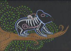 Aboriginal Art dogs | The Koala is a Unique Mammal: Koala Facts - Bodybuilding.com Forums