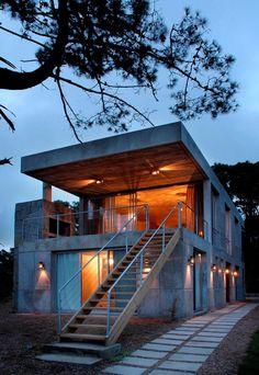 Uruguay Concrete house