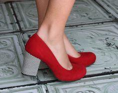#chaussures Chie Miahara shoes Talo #rouges #escarpins