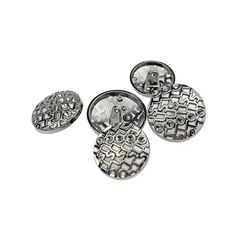 RECHERE 24PCS Metal Hollow Letter Carving Round Shank Buttons Hematite For DIYS Sewings Embellishment(25mm) -- Read more reviews of the product by visiting the link on the image.