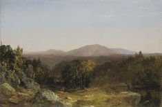 """View of Mount Washington,"" John Frederick Kensett, 1852, oil on canvas, 30 x 45"", Crystal Bridges Museum of American Art."