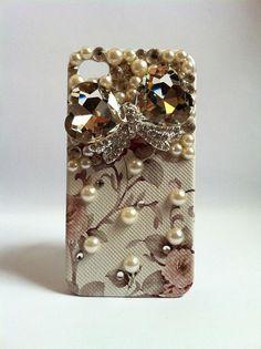 Floral iPhone Bling Rhinestone Phone Case
