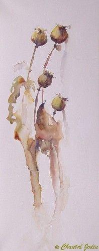 Artwork >> Chantal Jodin >> end of poppies 3