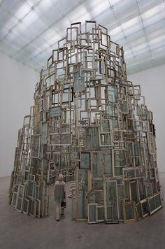 "Chiharu Shiota, ""A Room of Memory,"" 21st Century Museum of Contemporary Art, Kanazawa"