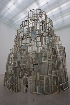 "Chiharu Shiota, ""A Room of Memory,"" 21st Century Museum of Contemporary Art…"