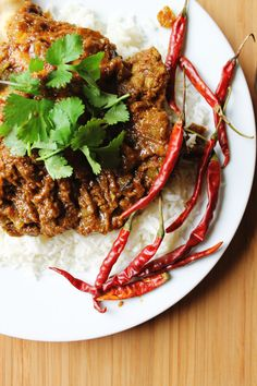 Super spicy chicken vindaloo recipe from In Her Kitchen cookbook!