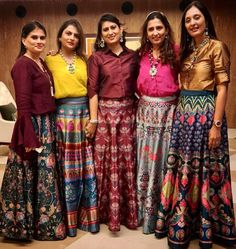 Are you looking for some off-beat multicoloured Lehenga Designs for a wedding ceremony? We've handpicked some of the best Multicolor Lehenga designs. Lehenga Designs, Kurta Designs, Kurti Designs Party Wear, Blouse Designs, Indian Fashion Dresses, Indian Gowns Dresses, Indian Designer Outfits, Indian Outfits, Designer Dresses