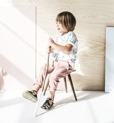 T-Shirt organic 'Desert' - Pepe&Nika Berlin, Summer Collection, Fabric Design, Printing On Fabric, Kids Outfits, Kids Fashion, Deserts, Baby, Ss16