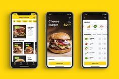 Case Study: Tasty Burger. UI Design for a Food Ordering Mobile Application