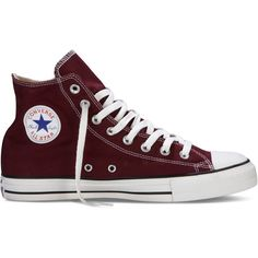 Converse Chuck Taylor All Star Fresh Colors – red Sneakers (1,010 MXN) ❤ liked on Polyvore featuring shoes, sneakers, converse, red, all star, star sneakers, converse shoes, red high tops, red hi top sneakers and converse sneakers