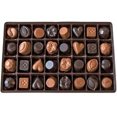 Langs Chocolates - Chocolate Sampler Box, $12.00 (http://www.langschocolates.com/chocolate-sampler-box/)