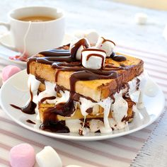 Sneak in dessert for breakfast with this indulgent French Toast! Dangerously easy to make, you'll have this on the table in 15 minutes.