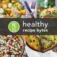 5 Healthy Casserole Recipes-Cheesy Chicken casserole w/kale, Vegetarian green lentil casserole, chicken and butternut squash casserole, stacked roasted veggie enchiladas, and cheesy broccoli and quinoa casserole.