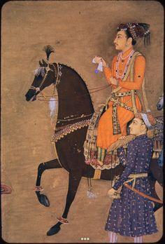 Bildschirmfoto: Harvard Mirador Viewer Mughal Miniature Paintings, Mughal Paintings, Indian Paintings, Art Moyen, Asian Studies, Mughal Empire, Medieval Manuscript, Donkeys, Zebras