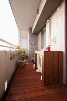 Small Balcony Decor, Outdoor Balcony, Balcony Decoration, Balcony Ideas, House Balcony Design, House Design, Veranda Interiors, Kitchen Cabinet Styles, Patio Interior