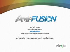 Church software solution for attendance tracking, contributions reporting, mass communications, people and event management, task automation and much, much more...