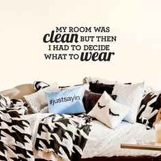 Small Clean Room Decal by Dormify