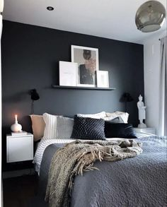 Bedroom Wall Decor Ideas Small Rooms Basements is unconditionally important for your home. Whether you choose the Bedroom Ideas Master For Couples or Bedroom Wall Decor Ideas Small Rooms Space Saving, Cozy Bedroom, Home Decor Bedroom, Ikea Bedroom, Small Room Bedroom, 1930s Bedroom, Budget Bedroom, Bedroom Ceiling, Blue Bedroom, Bedroom Bed