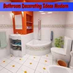 Bathroom Decorating Ideas Modern