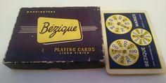 VINTAGE WADDINGTONS BEZIQUE CARD GAME BOX Games Box, Card Games, Leeds, Vintage, Ebay, Vintage Comics, Playing Card Games, Primitive