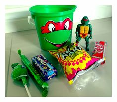 TMNT Party Buckets - to order email jackie@babazoo.co.za