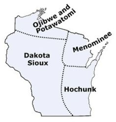 Native american tribes of alabama provides links to information wisconsin indian tribes and languages sciox Images