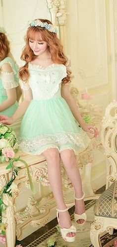 Adorable cupcake, heart and bow dress