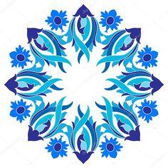 İndir - Osmanlı motifleri serisi 9 sürümü ile tasarım — Stok İllüstrasyon #45358335