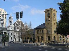 Downtown San Jose, California  Almaden & San Fernando Street near the Fairmont