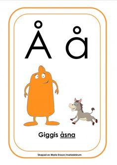 Babblarna med bokstäver