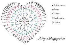 Ideas Crochet Coasters Diagram English For 2019 Crochet Snowflake Pattern, Crochet Snowflakes, Granny Square Crochet Pattern, Crochet Mandala, Crochet Diagram, Crochet Stitches Patterns, Crochet Squares, Col Crochet, Crochet Art