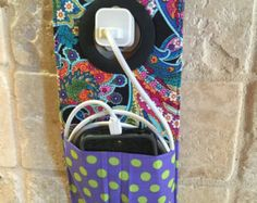 Cell Phone Holder Wall Socket Charging Holder IPhone by tiger98