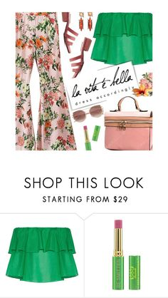 """""""Summer Date"""" by beebeely-look ❤ liked on Polyvore featuring Alice + Olivia, Tata Harper, DANNIJO, casual, floralprint, sammydress and summerdatenight"""