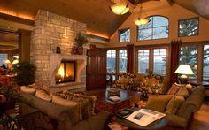 space, not the decor  -Vail Ski Resort boasts North America's largest ski area!