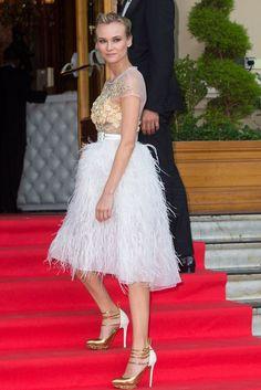 Diane Krüger in Prabal Gurung in Cannes