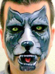 wolfFace Paintings By one of San Diego's Top Face Painters Ramona Williams.  www.welike2partysd.com www.facebook.com/welike2partysd  #bouncehouseRentalsSanDiego  #FacePaintingSanDiego #kidsparty #kidsparties#facepainting  #welike2partsd #hairfeathers   #mobilepettingzoo #mobileminipettingzoo #welike2partysd.com