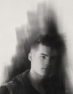 Gorgeous fanart of Theo Raeken, played by Cody Christian