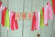 STRAWBERRY SHORTCAKE Inspired High Chair First Birthday Banner Photo Prob/Backdrop Pink/Red/Green Chair Banner Strawberry Shortcake Birthday by ScrapBugs on Etsy https://www.etsy.com/listing/246924814/strawberry-shortcake-inspired-high-chair