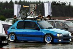 Peugeot 205 gti BBS