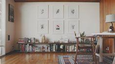 hallway decorating 844565736360660514 - Home Interior Hallway .Home Interior Hallway Source by Low Bookshelves, Low Shelves, Pipe Bookshelf, Pipe Shelving, Floating Shelves, Interior Exterior, Interior Design, Sweet Home, Bookshelf Design