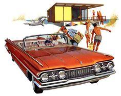 1959 Oldsmobile 98 Convertible