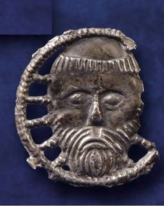Pilgrimage badge depicting the relic of St. John the Baptist found during excavations in Waterford, via Pilgrimage in Medieval Ireland