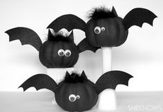 Cute and easy bat craft